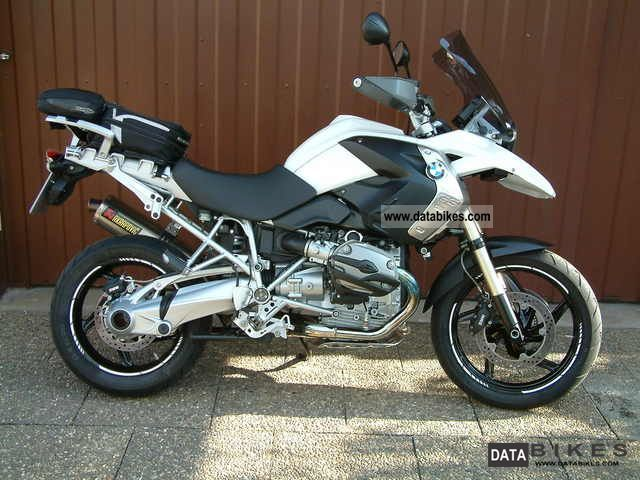 2008 Bmw R 1200 Gs Abs Rdc Asr Bc Esa Heated Grips