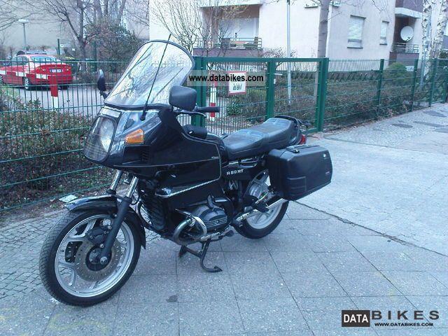 1992 BMW  Hu '92 R80 RT new black Motorcycle Tourer photo