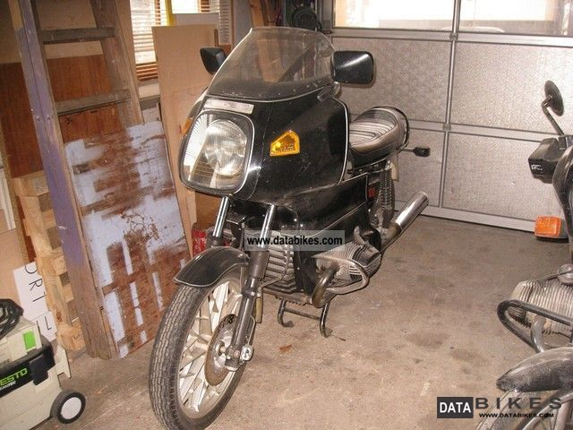 1981 BMW  R100R / S Motorcycle Motorcycle photo