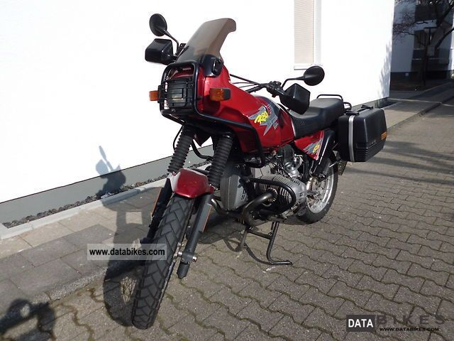1993 bmw r 80 gs gs 80 car lovers motorcycle enduro touring enduro