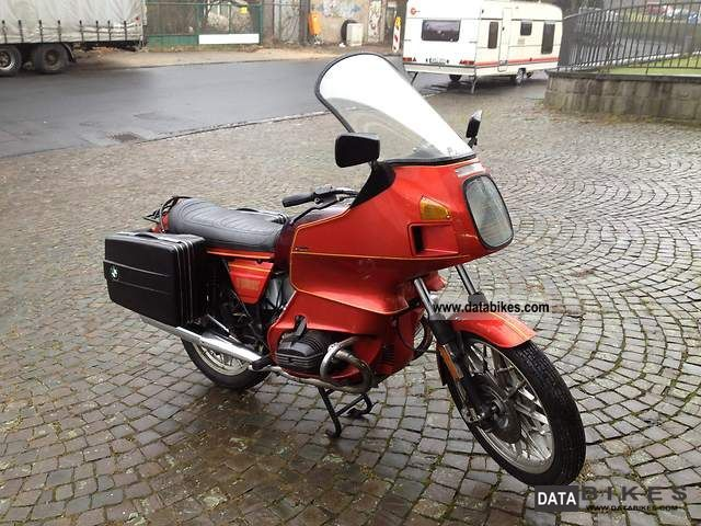 1980 BMW  R 100 RT Motorcycle Motorcycle photo