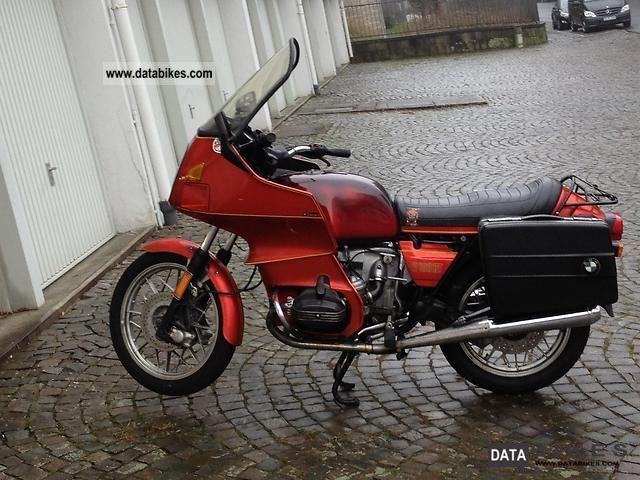 1980 Bmw R 100 Rt