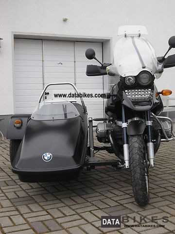 2002 BMW  R 1150 GS with Tripteq Heeler solo and optional Motorcycle Combination/Sidecar photo