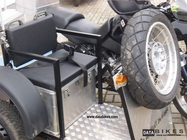 2002 Bmw R 1150 Gs With Tripteq Heeler Solo And Optional