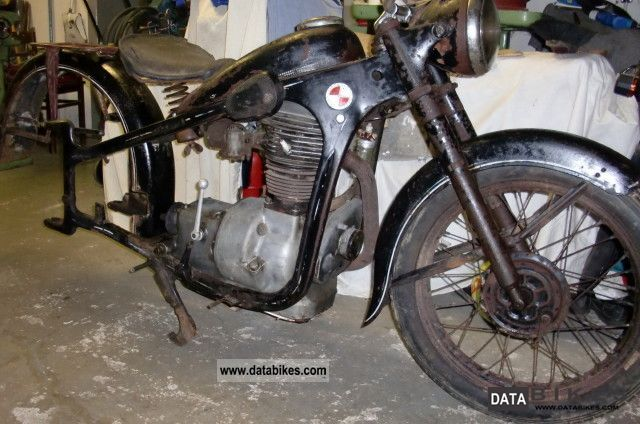 1954 BMW  R 35-3 EMW Motorcycle Motorcycle photo