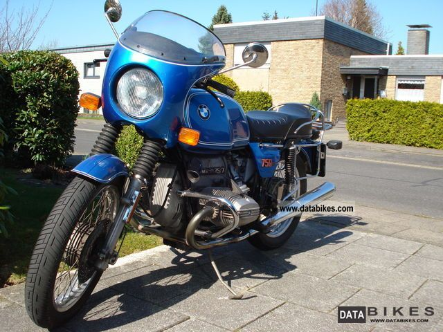 BMW  R 75/7 1977 Vintage, Classic and Old Bikes photo