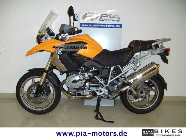 2008 BMW  R 1200 GS with Bagster seat Motorcycle Enduro/Touring Enduro photo