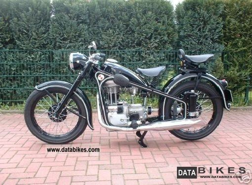 BMW  EMW R35 / 3 1953 Vintage, Classic and Old Bikes photo