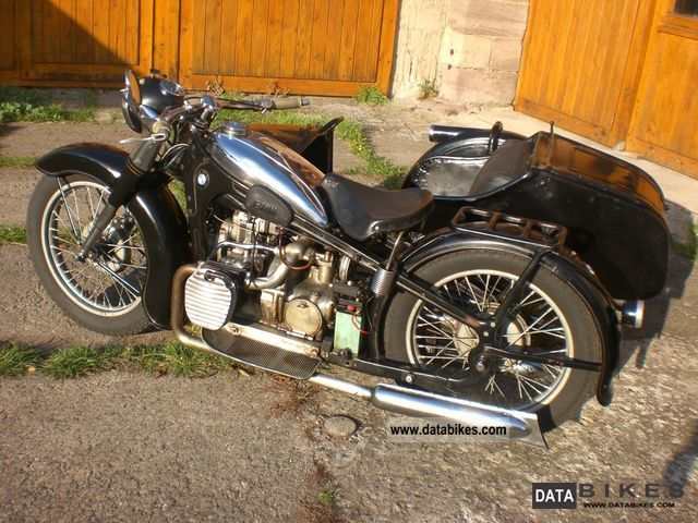 BMW  R 12 1940 Vintage, Classic and Old Bikes photo