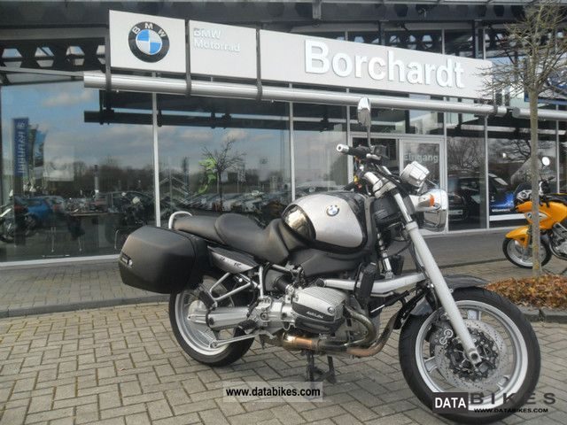 1998 BMW  R850 R, suitcases, Motorcycle Motorcycle photo