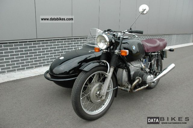 1972 BMW  75/5 with Watsonia team Motorcycle Combination/Sidecar photo