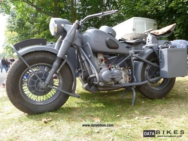 1943 BMW  R 75 WH Motorcycle Combination/Sidecar photo