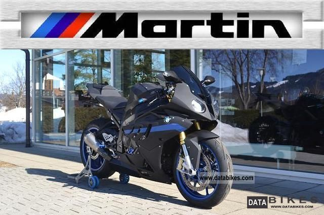 2011 BMW  S 1000 RR Martin Edition, Race ABS + DTC Motorcycle Sports/Super Sports Bike photo