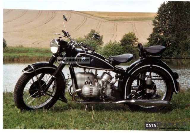 1954 BMW  R51 / 3 Motorcycle Motorcycle photo