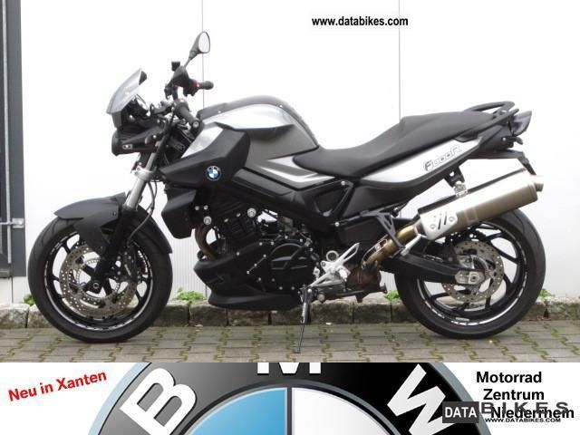 BMW  F 800 R with chin spoiler 2011 Naked Bike photo