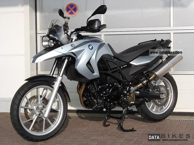 2008 Bmw F650gs Twin Abs Hg Bc