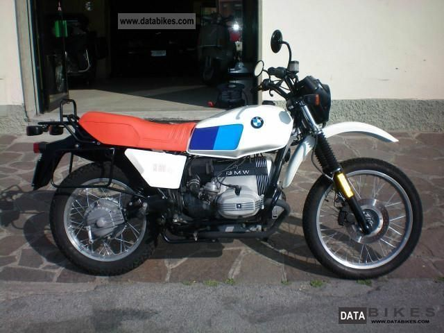 1986 BMW  R 80 GS Motorcycle Other photo