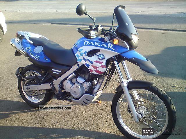 2001 Bmw F 650 Gs Dakar Bike 1a Top