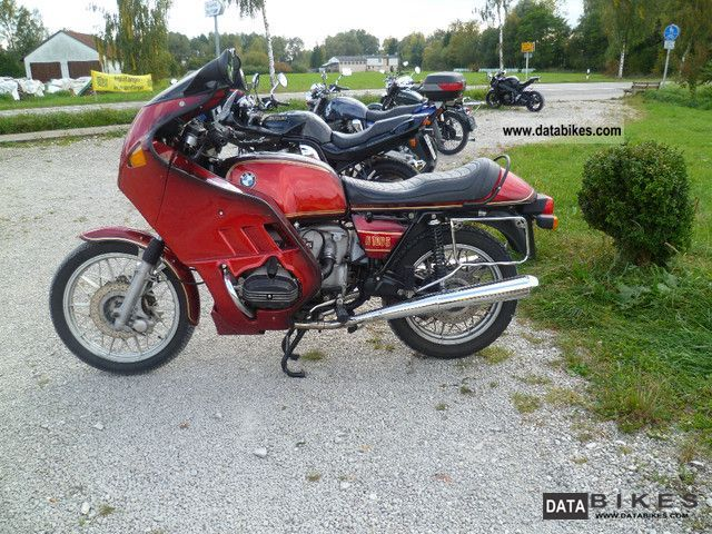 BMW  R 100 S Pichler fairing 1979 Vintage, Classic and Old Bikes photo