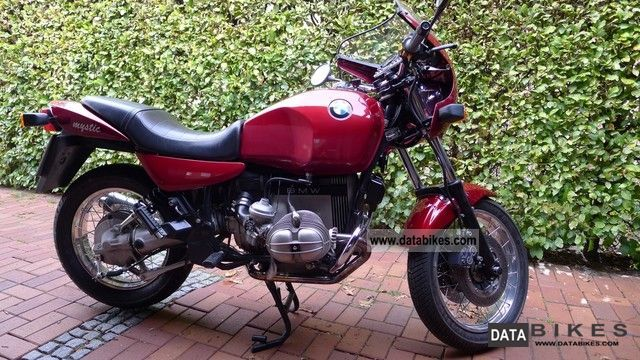 1995 BMW  R100R Mystic last 65 hp 2-valve engine Motorcycle Naked Bike photo