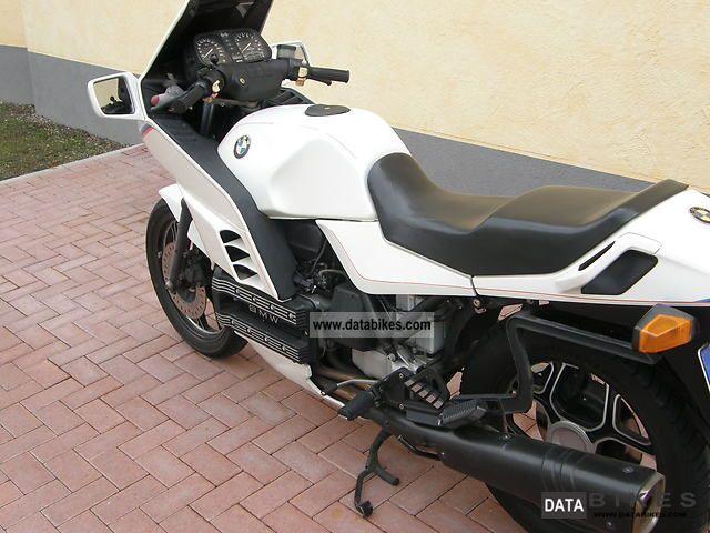 1986 BMW  k 100 RS Motorsport Motorcycle Motorcycle photo