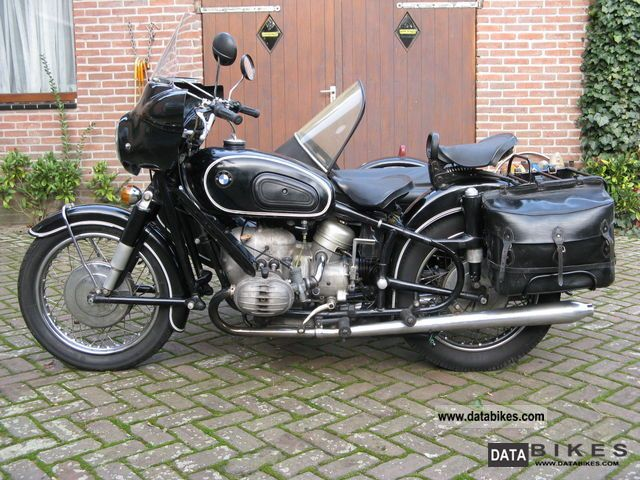 1966 BMW  R60 / 2 Motorcycle Combination/Sidecar photo