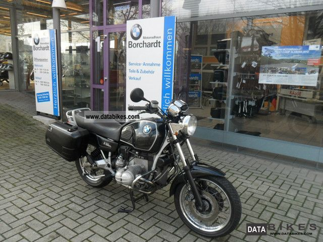 1993 BMW  R 100 R Classic with case Motorcycle Motorcycle photo