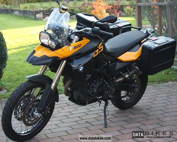 2009 BMW  F800 GS Sunset Yellow Motorcycle Enduro/Touring Enduro photo