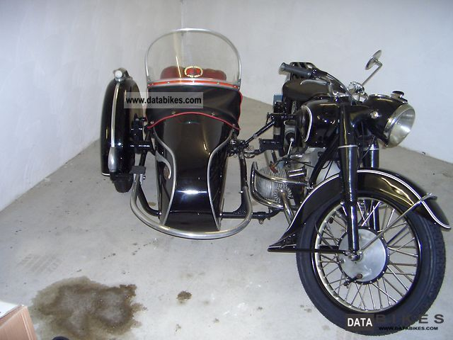 1954 BMW  51/3 Motorcycle Combination/Sidecar photo