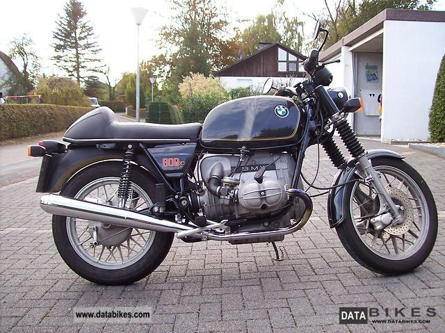1980 BMW  R80 / 7 Motorcycle Motorcycle photo