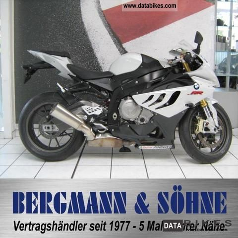 2010 BMW  S 1000 RR Vollausstattung Motorcycle Motorcycle photo