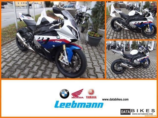 2010 BMW  S 1000 RR Race ABS + DTC + switching + automatic engine Motorcycle Motorcycle photo
