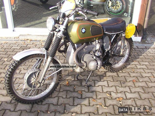 1971 BMW  75/5 off-road racing Motorcycle Enduro/Touring Enduro photo