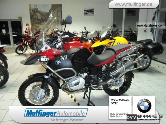 2008 BMW  R 1200 GS Adv Mu Motorcycle Motorcycle photo