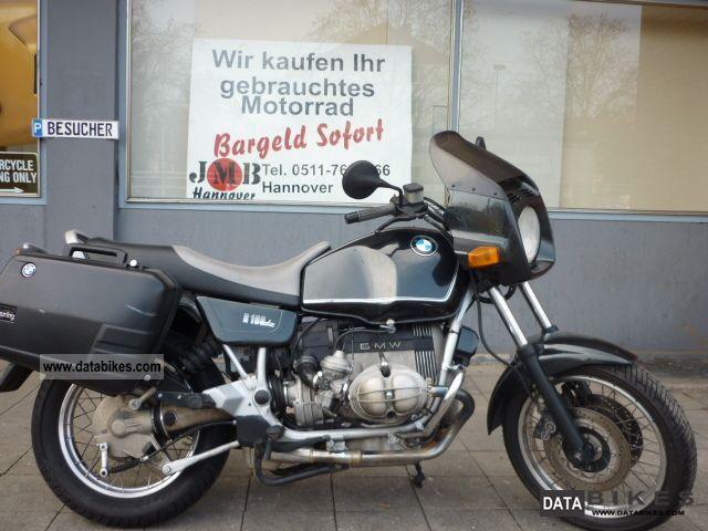 1992 BMW  R 100 R orginal case Motorcycle Naked Bike photo
