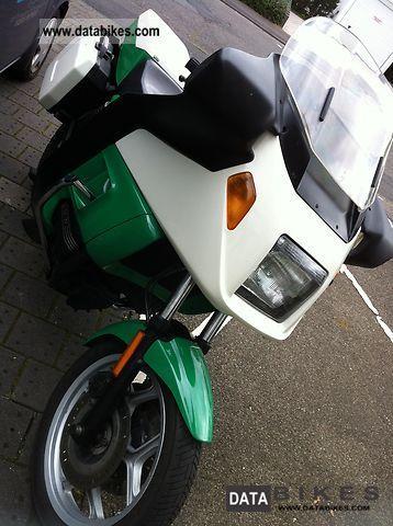1991 BMW  K75RT police Motorcycle Motorcycle photo