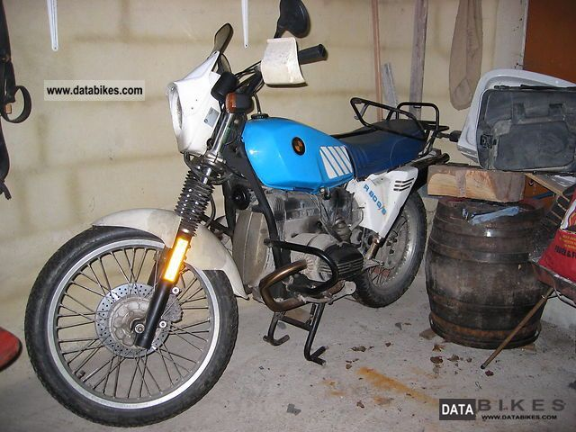 BMW  R80 G / S Unleaded 2.Hd. Stainless steel exhaust 1987 Enduro/Touring Enduro photo