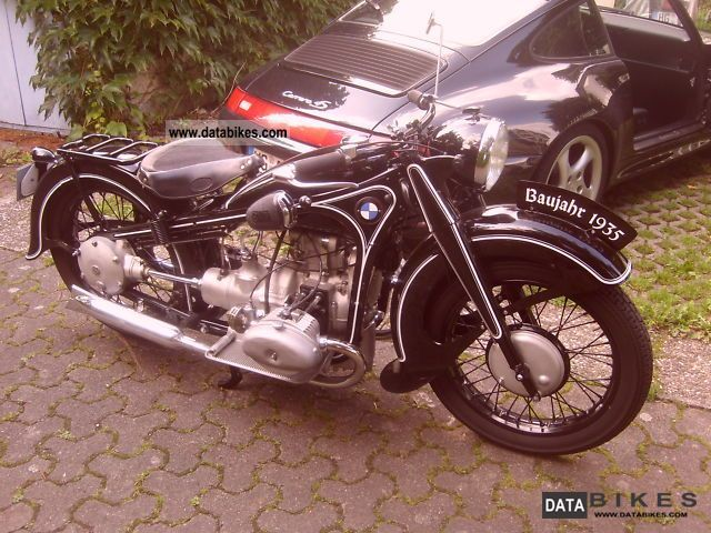1935 BMW  R-17 Motorcycle Motorcycle photo