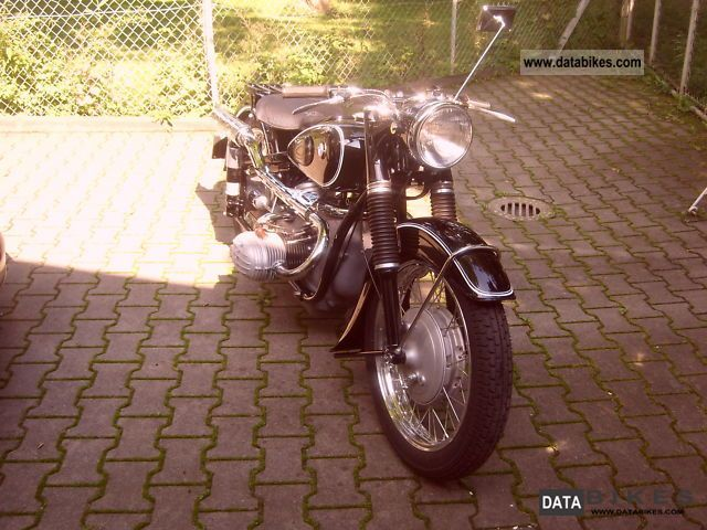 1956 BMW  R-67/3 Motorcycle Motorcycle photo