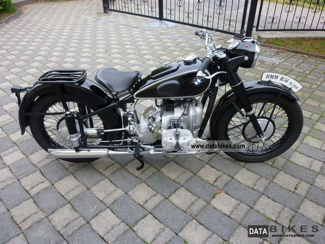 BMW  R51 1939 Vintage, Classic and Old Bikes photo