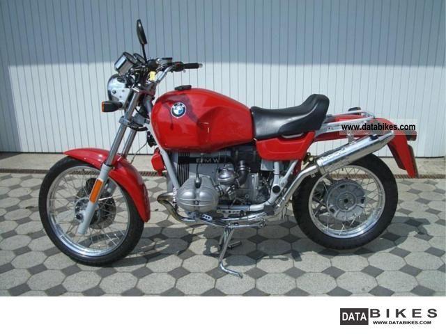 1989 BMW  R 100 GS Motorcycle Enduro/Touring Enduro photo
