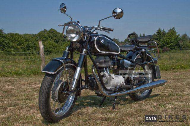 BMW  R 26 with 2 x single seat 1957 Vintage, Classic and Old Bikes photo
