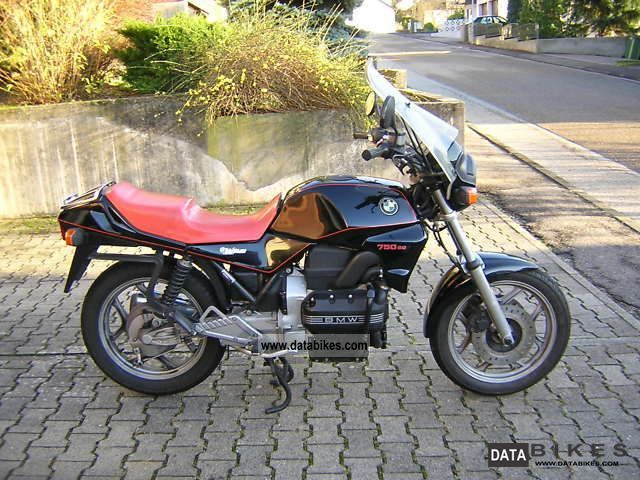 1987 BMW  K75 Motorcycle Motorcycle photo