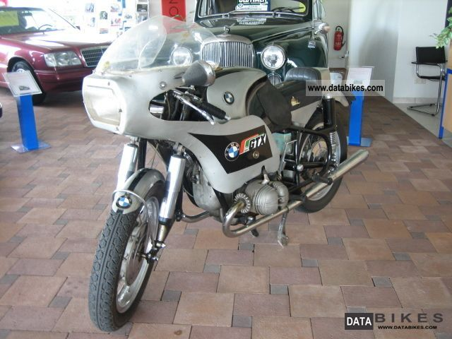 BMW  R50 * rare * race remodeling unrestored * 1958 Vintage, Classic and Old Bikes photo