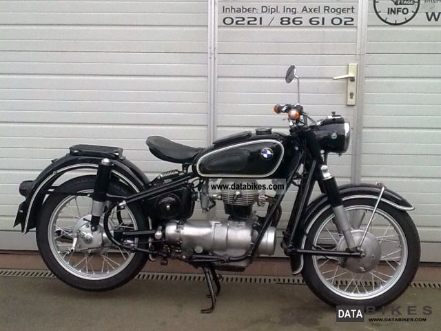 BMW  Vintage R26 - R25 R27 similar 1956 Vintage, Classic and Old Bikes photo