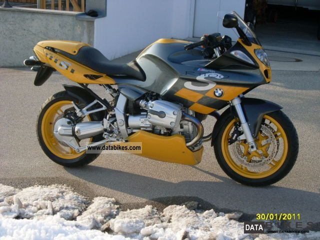 BMW  R 1100 S Front Spoiler Remus 2004 Motorcycle photo
