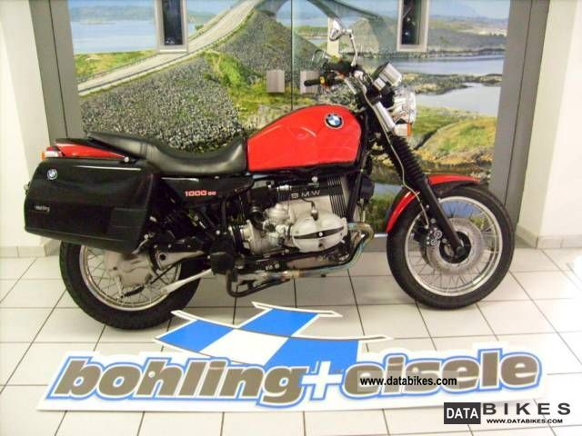 1996 BMW  R100R Mystic lined two-tone color scheme, very se Motorcycle Motorcycle photo