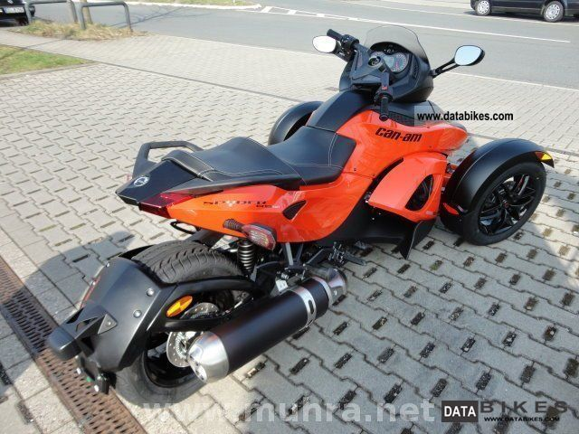 2011 Bombardier Can Am Spyder Rs S Sm5