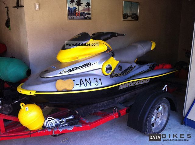 2001 Bombardier  SEA DOO XP WATER BIKE Motorcycle Other photo