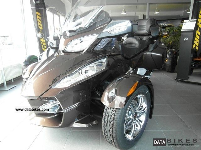 2011 Bombardier  BRP Can Am Spyder SE5 RT Limited LTD Motorcycle Trike photo